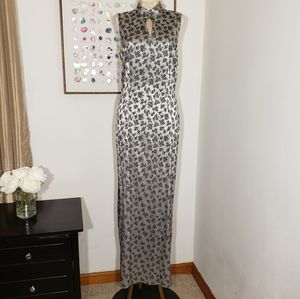 Harlow asian inspired maxi dress size 8